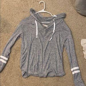HOLLISTER gray light hoodie